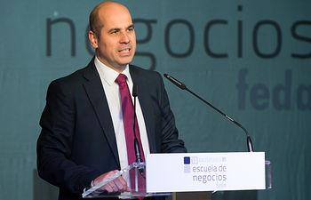 Javier Rosell, director general de Empresas, Competitividad e Inovación de la JCCM