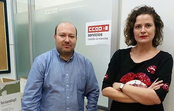 Esther Ruiz y Santiago Zafrilla.