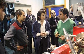 Visita al IES Condestable Álvaro de Luna de Illescas (Toledo). Foto: JCCM.