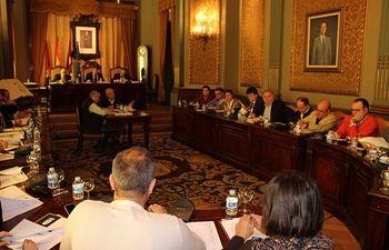 Pleno de la Diputación de Albacete.