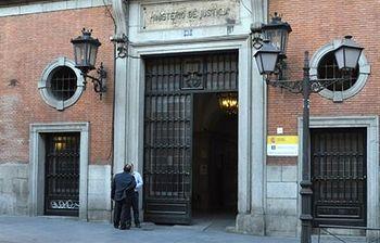Sede del ministerio de Justicia (Archivo). Foto: Foto archivo.