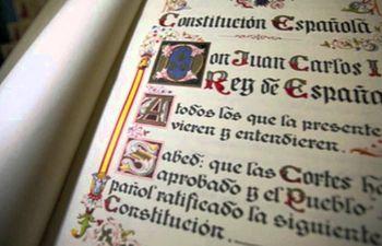 Constitución Española de 1978. Imagen de archivo.