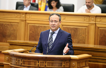 Juan Alfonso Ruiz Molina, consejero de Hacienda y Administraciones Públicas de la JCCM.