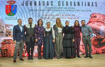 Presentación de las Jornadas Cervantinas en Fitur.