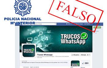 WhatsappTrucos. Foto: Ministerio del Interior