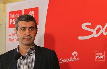 Álvaro Gutiérrez, secretario general del PSOE de Toledo.