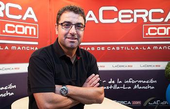Modesto Belinchón, secretario general de la Agrupación Local Socialista de Albacete.