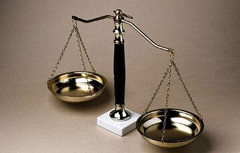 Balanza Justicia (Foto archivo)