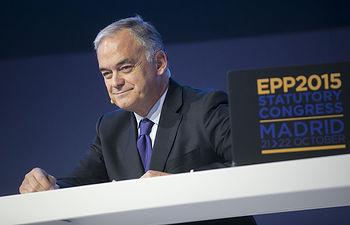 El jefe de la delegación española en el Grupo Parlamentario Popular Europeo, Esteban González Pons