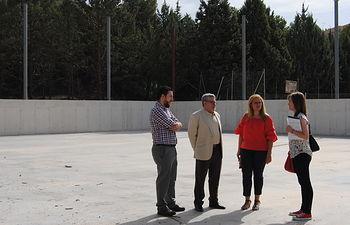 El Gobierno regional avanza en las actuaciones del Plan de Inversiones Educativas con la obra del IES Pedro Mercedes y la próxima licitación en el IES Alfonso VIII de Cuenca