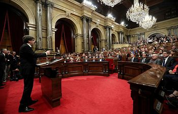 Carles Puigdemont. Foto: Europa Press.
