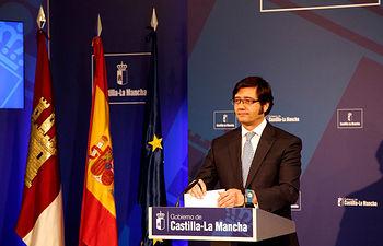 Rueda de Prensa de Arturo Romaní en el Palacio de Fuensalida 1. Foto: JCCM.