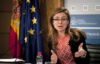 Foto de la secretaria de Estado de Presuspuestos y Gastos Fernández Curras (Archivo)