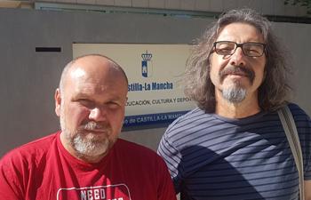 Chema Fernández y Natalio González.