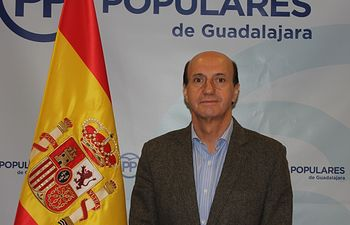 Juan Pablo Sanchez secretario general del PP de  Guadalajara.