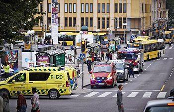 Ataque en Turku (Finlandia).