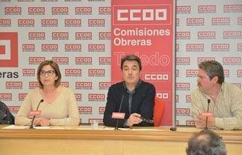 Remedios Toboso, Lucas Sánchez y Jesús G. Villaraco