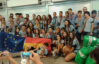 Grupo Scouts Jamboree Madrid.