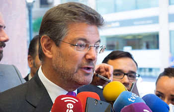 Rafael Catalá, ministro de Justicia.