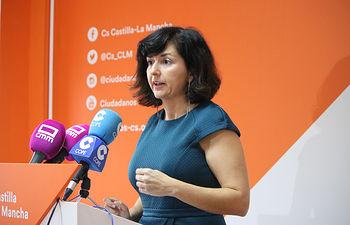 Orlena De Miguel, Portavoz Cs en Castilla-La Mancha