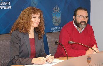 Pilar Cuevas y Víctor Cabeza.