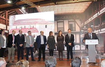 Acto inaugural del Día de la provincia de Albacete, en el stand de Castilla-La Mancha en FITUR