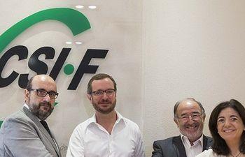 Javier Maroto se reúne con el CSIF