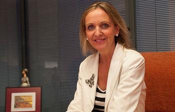 Carmen Casero, consejera de Empleo y Economía de la Junta de Comunidades de Castilla-La Mancha.