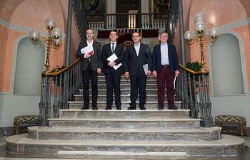 Presentación de los Presupuestos de la Diputación Provincial de Albacete