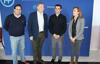 Francisco Cañizares, en la Intermunicipal del PP de Albacete.