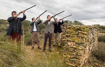 """El Círculo Fortuny se reunió en la Dehesa de Los Llanos para realizar un """"Encuentro sobre Cinegética"""""""