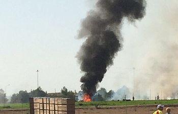 Accidente avión Base Aérea Los Llanos-1 - 12-10-17