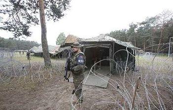 Militante de la VJTF (Foto: Ministerio de Defensa)