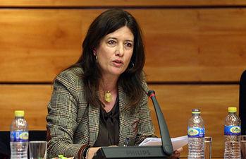 Mar España comparece en la Comisión de Justicia y Protección Ciudadana II. Foto: JCCM.