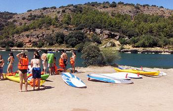 Castilla-La Mancha cuenta con 35 zonas de baño autorizadas donde disfrutar de la naturaleza. Foto: JCCM.
