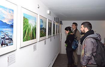 La exposición puede visitarse en la sala Acua.