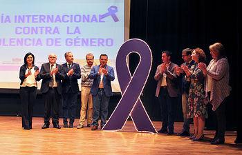 Acto Institucional del Día Contra La Violencia de Género en Albacete