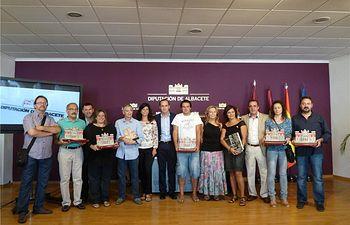 El diputado de Cultura, Fermín Gómez, entregó los premios de fotografía del concurso 'Albacete Siempre' patrocinado por la Diputación