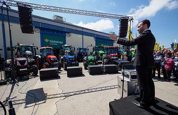 Concierto de tractores en Expovicaman 2019