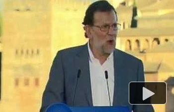 Rajoy: Los españoles no quieren que el esfuerzo que han hecho en estos años se tire por la ventana