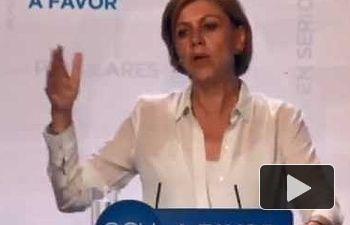 Cospedal: Nos merecemos un Gobierno del que nos podamos fiar y que trabaje por los españoles