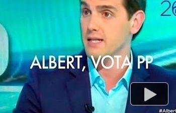 Partido Popular: Albert, vota PP