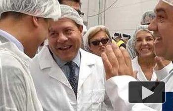 JCCM: Visita a las instalaciones de fábricas de berenjenas y encurtidos