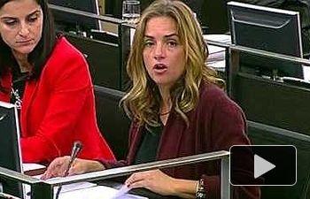 Susana Sumelzo defiende la propuesta socialista contra delitos de odio