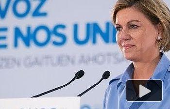 Cospedal: Lo que está claro es que los españoles no han votado para que Pedro Sánchez sea presidente