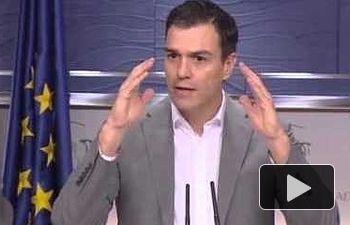 Pedro Sánchez: pensemos en el bien común, no en intereses partidistas