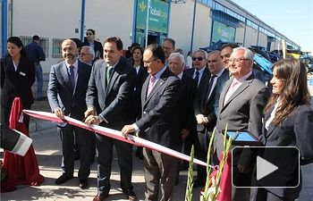 Francisco Núñez inaugura la XXXV Feria Agrícola y Ganadera de CLM, Expovicamán, una de las principales referencias nacionales del sector