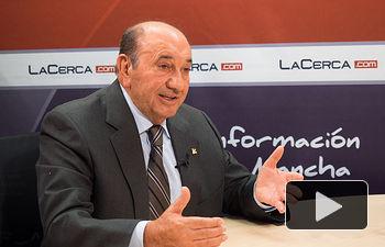 Higinio Olivares, presidente de Globalcaja