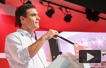 Pedro Sánchez en Bilbao.