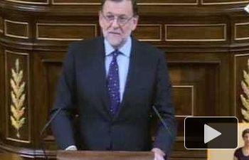 """Rajoy: """"España necesita un Gobierno moderado con urgencia. No hay alternativa al Partido Popular"""""""